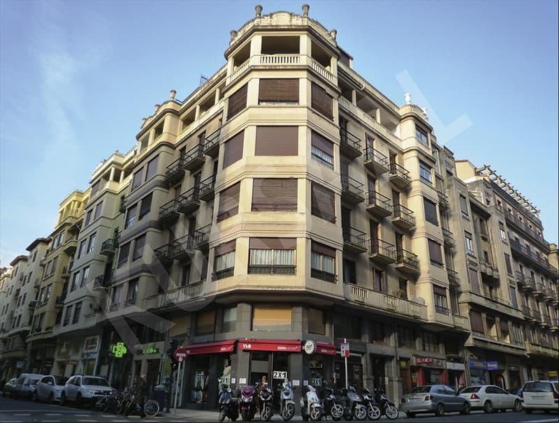Rehabilitación en Gran Vía 16 - Donostia antes de las obras de innoETICS