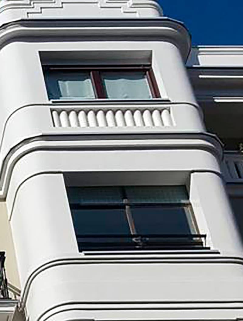 Rehabilitación en Gran Vía 16 - Donostia después de las obras de innoETICS