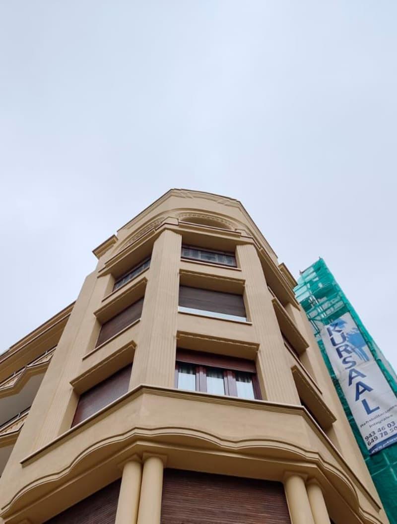 Rehabilitación en Secundino Esnaola 20 - Donostia después de las obras de innoETICS
